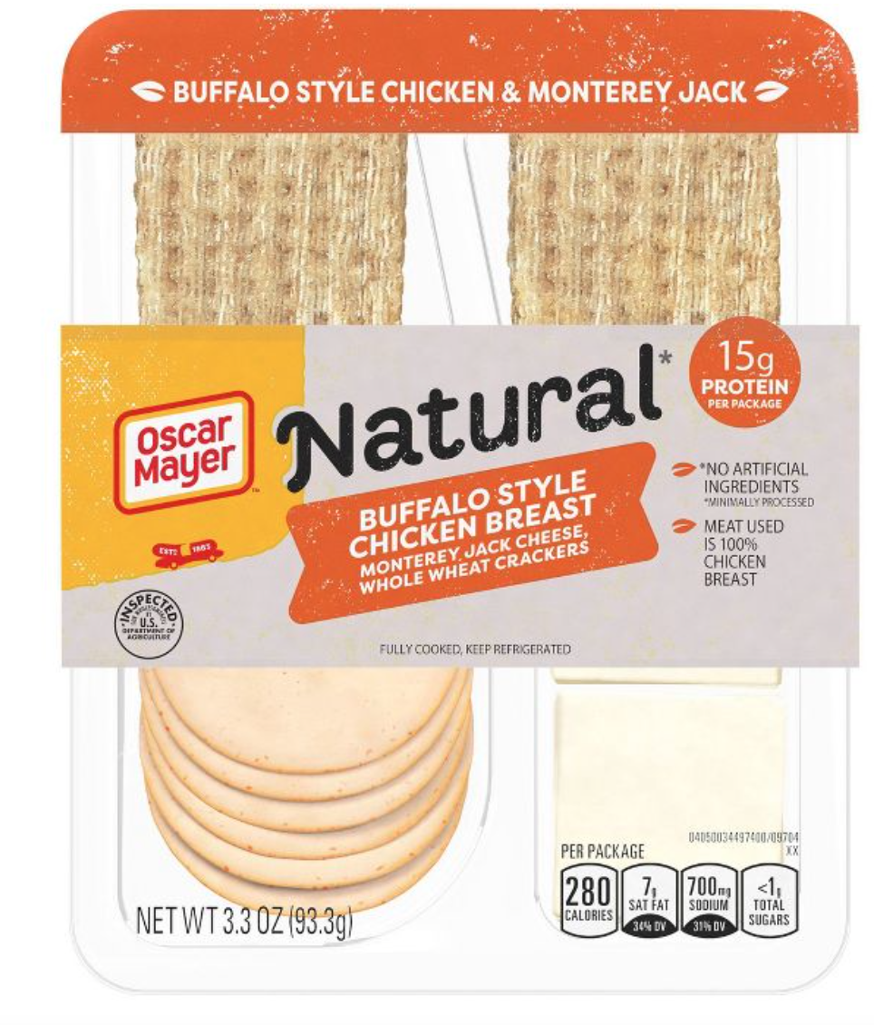 Oscar Meyer Natural Meat & Cheese Packs
