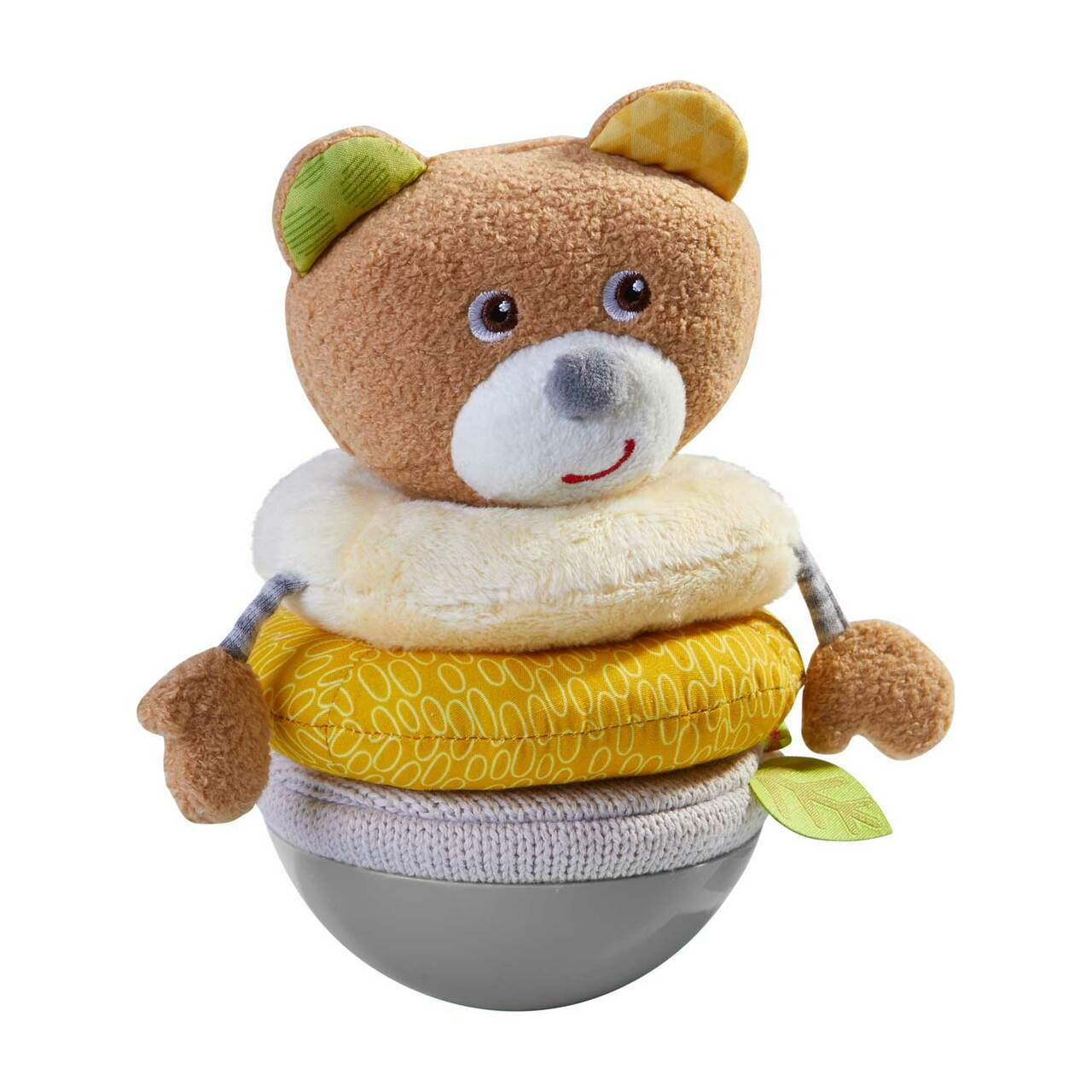 Haba Roly Poly Bear with Stacking Rings