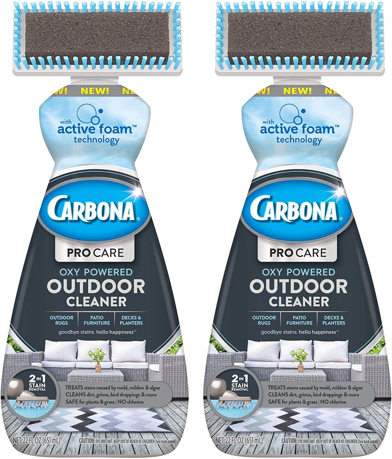Carbona Pro Care 2-in-1 Oxy Powered Outdoor Cleaner