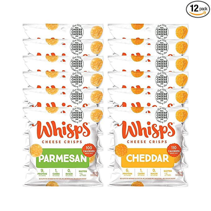 Whisps Parmesan and Cheddar Snack Packs