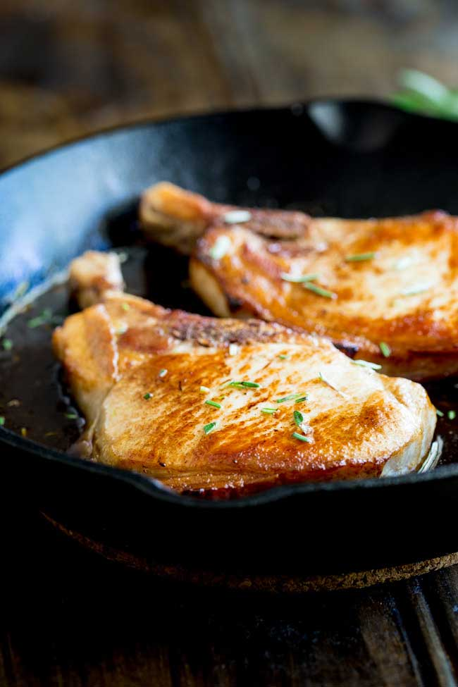Quick and Easy Maple Glazed Pork Chops