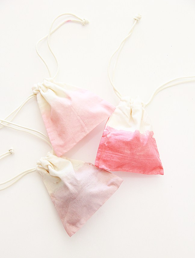 jelly crystals Dip Dyed Muslin Bags