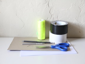 Duct Tape Notebook Craft - Materials
