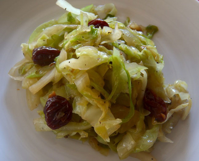 St. Patrick's Day Cabbage and Cherries-3