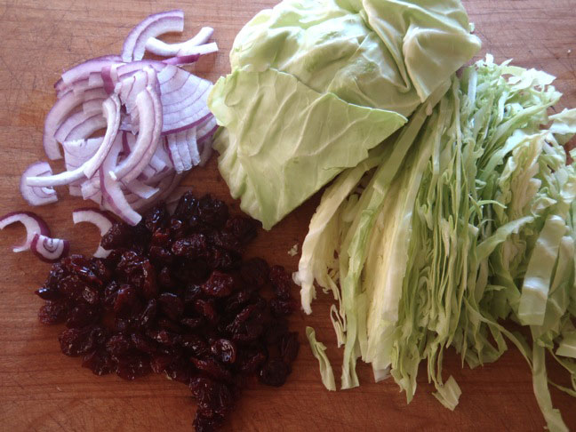 St. Patrick's Day Cabbage and Cherries