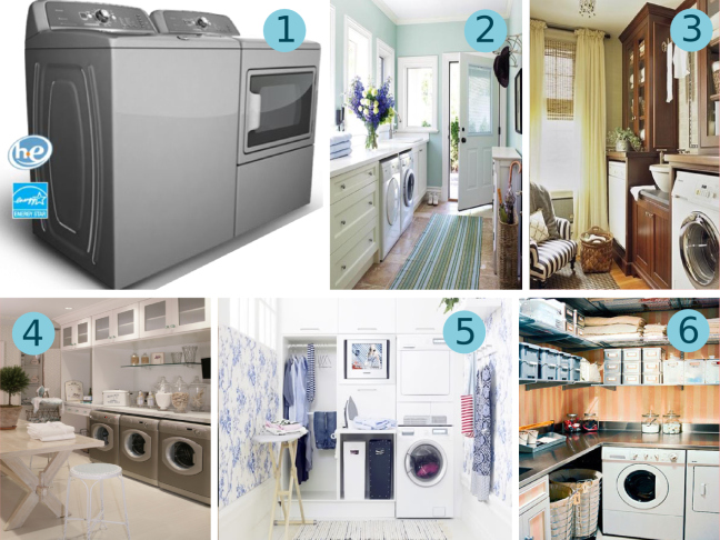 A Luxury Laundry Room
